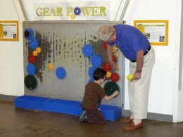 Gear Power Wall
