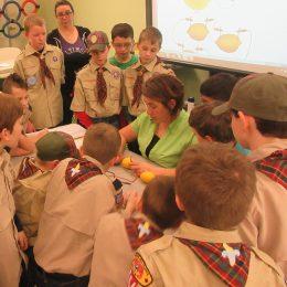 Cub Scout Troop Visit