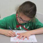 Girl Writing Letter