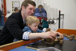 family fun at the Lancaster Science Factory