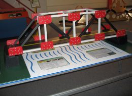 The Truss Bridge, special thanks to High Steel Structures, Inc.