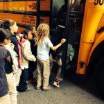 Children Boarding Bus